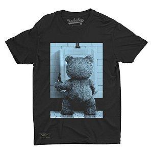 Camiseta Preta Unibutec Hops Ted Beer