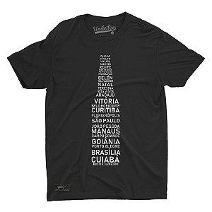 Camiseta Unibutec Basic Beer Capitals