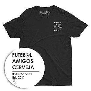Camiseta Unibutec Basic Futebol, Amigos, Cerveja
