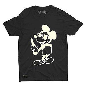 Camiseta Unibutec Hops Mickey Style Drinking