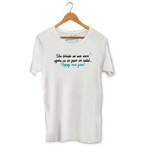 Camiseta Unibutec Brinde ao Ano Novo