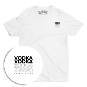 Camiseta Unibutec Vodka Bolso