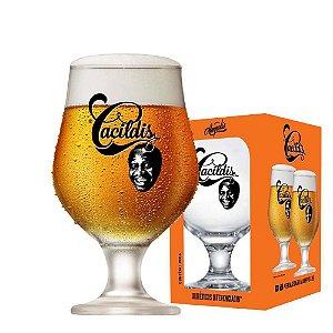 Taça De Cerveja Cacildis Frases Sortidas 380ml
