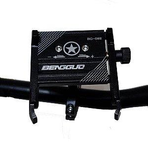 Suporte Celular Bike Moto Boy Todo Alumínio Articulado 360°