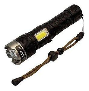 Lanterna Tática Power Bank Led P90 Função Luminária Ws608