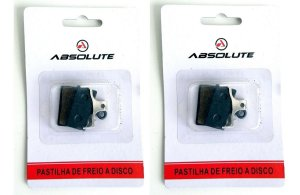 Kit 2 Pastilha Freio Disco Bike Deore Xt Slx M985 Abs-03s