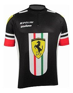 Camisa Ciclismo Cabani Preta Bike Mtb Speed