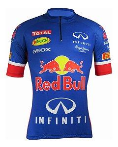 Camisa Ciclismo Cabani Azul Bike Mtb Speed