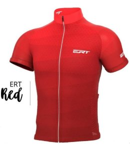 Camisa Ciclismo Ert New Tour Red Bike Mtb Speed