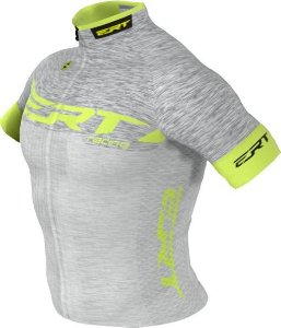 Camisa Ciclismo Ert Elite Racing Prata Bike Slim Fit