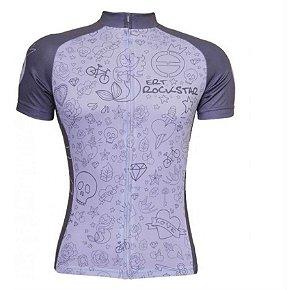 Camisa Ciclismo Ert Advanced Rockstar Bike Mtb Speed