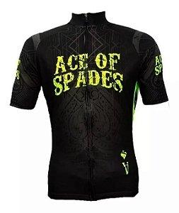 Camisa Bicicleta Ciclismo Ert Advanced Ace Of Spades Bike