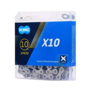 Corrente Kmc X10 Silver 10v 116links 280gr Bike Mtb Speed