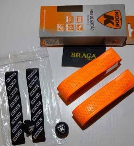 Fita Guidao Kode 2.0 Laranja 2mm Bicicleta Bike Speed Road