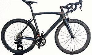 Bicicleta Speed 700c Sava Full Carbon Shimano 105 22v Roda Carbono