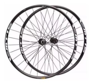 Roda Mtb Bicicleta Shimano Mt15 29 Preta Bike Center Lock