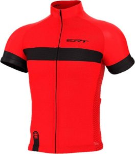 Camisa Ciclismo Ert New Tour Strip Red Bike Mtb Speed