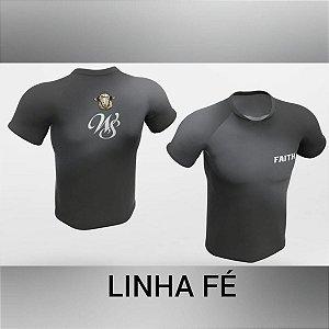 Camisa Dry Corrida Ert Faith Cinza Xtreme Cool