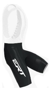 Bretelle Ert Elite Preto Speed Mtb Forro Gel Bike