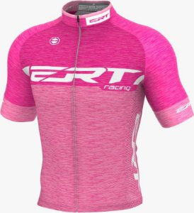 Camisa Ciclismo Ert Elite Racing Rosa Mod Novo Bike Slim Fit