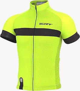 Camisa Ciclismo Ert Nova Tour Strip Green Bike Mtb Speed