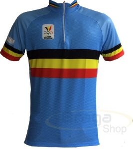Camisa Bicicleta Ciclismo Ert Team Belgium Bike Belgica