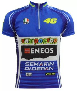 Camisa Ciclismo Valentino Rossi The Doctor Ert Mtb Speed