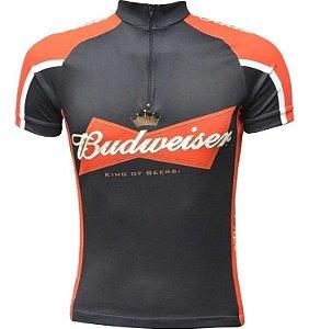 Camisa Ciclismo Ert Budweiser Consulte Tamanho Bike Mtbspeed
