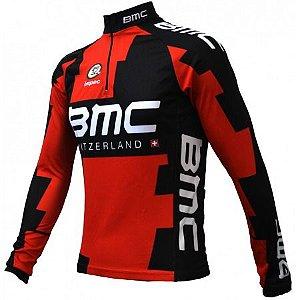 Camisa Ciclismo Ert Bmc Manga Longa Bike Mtb Speed