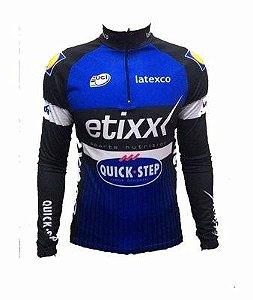 Camisa Ciclismo Ert Etixx 2016 Manga Longa Bike