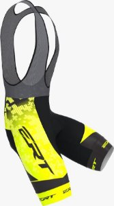Bretelle Ert Elite Team Amarelo Forro Gel Speed Mtb Bike