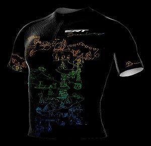 Camisa Ciclismo Ert Elite Brasil Cultural Bike Slim Fit