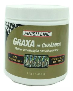 Graxa Cerâmica Finish Line 450g Alta Performance Bike