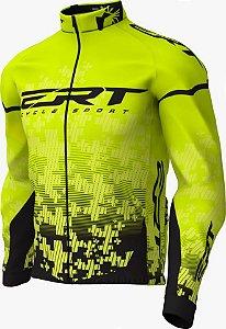 Jaqueta Térmica Casaco Frio Ert Team Amarelo Bike MTB Speed
