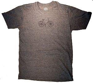 Camisa Ciclismo Casual Bike Cinza Escuro 100% algodão