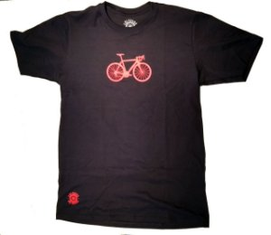 Camisa Ciclismo Casual Bike Preta 100% algodão