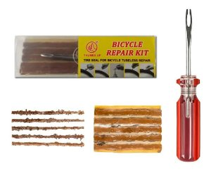 Kit Reparo Pneu Bike P/ Tubeless Thumbs Up Chave Macarrão