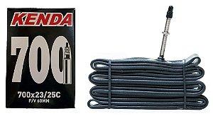 Câmara De Ar Bike 700 x 23 /25 Válv. 60mm Kenda Speed Urbana