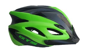 Capacete Ciclismo Bike C/sinalizador Led Gts In-mold Cores