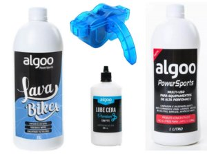 Kit Limpeza Bike Shampoo + Desengraxante 1L + Maquina + Óleo