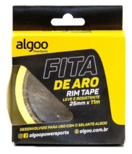 Fita Aro Tubeless Rolo 11m X 25mm Algoo Bike Mtb