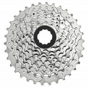 Cassete Sunrace 8v 11-34 M66 Indexado Prata Speed Mtb Bike