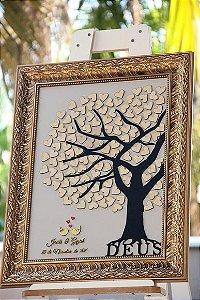 Árvore de assinaturas - 100 corações