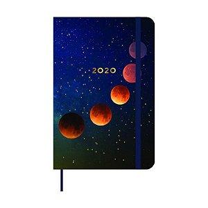 Agenda Planner 2020 Astral  - Eclipse Lunar - semanal anotações - 14x21