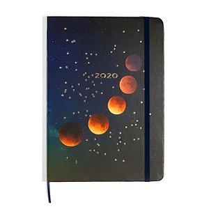 Agenda Planner 2020 Astral  Eclipse Lunar semanal 14x21