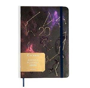 Agenda Planner Cícero 2020 Astral Zodíaco 14x21cm