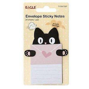 Bloco de anotações - Gato