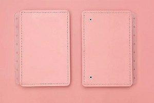 Capa e Contracapa para caderno inteligente Rose Pastel - A5