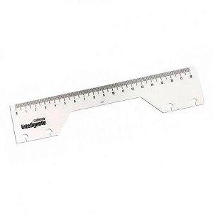 Régua para caderno inteligente - 18 cm