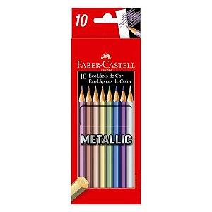 Ecolápis Cor Metallic -10 Cores